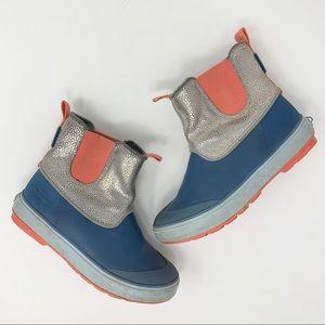 Keen Girls Waterproof Rubber Boots Sz 1